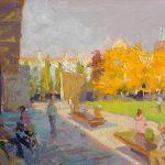Autumn Blaze, Piccadilly Gardens 18x12ins