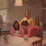 Family Compassion 16x14ins SOLD