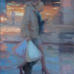 Heading Home 22 x 36 ins SOLD