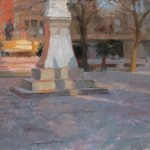 Last Light Albert Square, 10 x 16ins, SOLD