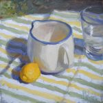 "Norman Long  ""Lemonade""  12x10ins  SOLD"
