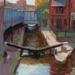 Lock 91, Deansgate 14x16ins  SOLD
