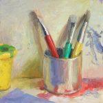 Trois Jeunes Picassos 10x10ins £485