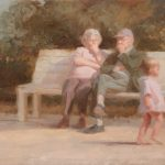 Watching Time Go By 24x12ins SOLD