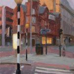 Albert Square Crossing,      12x18 ins, £725
