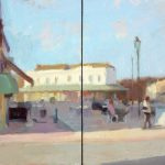 Lytham Double Square, 12 x 24 ins SOLD