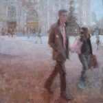 Piccadilly Passby 36x36 inches, contact Osborne Studio Gallery