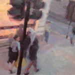 Top Deck View, 18x12ins, £1,000, Colourfield Gallery