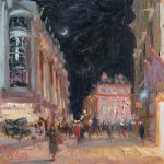 Piccadilly Nocturne 12x12ins £615