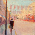 Regent Street Summer With Flags 8x6ins £425