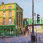 Salmon and Ball, Bethnal Green 18x12ins £745