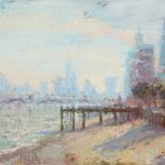 The City from Southbank 28x20ins £1495
