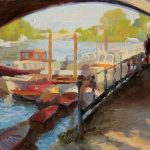 Under Richmond Bridge 18x12ins £685