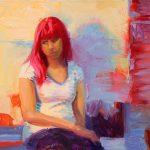 Norman Long, Aliesha, 14x10ins