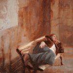 Norman Long, Parisienne 16x14ins