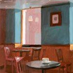 Cafe Interior 14x16ins £615