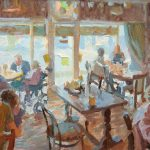Tayah's Cafe 20x14ins £925