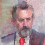 Portrait of Councillor James Hull, 14x16ins, £795