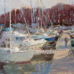 Preston Marina 18x12ins £575 (for one week only)