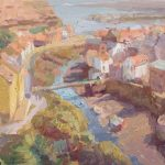 Staithes From Above 18x12ins £795
