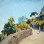 The Esplanade, Cornwall 12x10ins £475