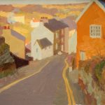 The Road Into Staithes 14x12ins £665