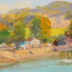 Watermouth Harbour 12x8ins £425