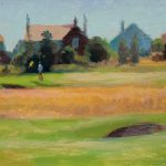 First Hole, Royal Lytham 18x12ins SOLD