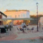 Twilight Lytham Square 16x12ins