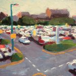 Fishergate Car Park 16x12ins was £595 now £245 unframed