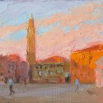 Morning Light, Campo Sant' Angelo 12x6ins £420