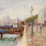 Rainy Morning, San Marco 12x8ins £485