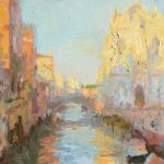 San Giovanni e Paolo, Evening 14x12ins £665, Picture House