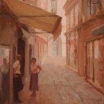 Venetian Street 10x12ins SOLD