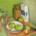 Stewing Apples 20x16ins £825