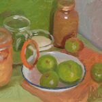 Stewing Apples Study II, 7x8ins £375