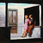 After Hopper, Summer Evening 22x16ins £550