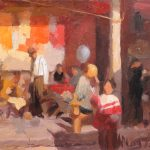 After Mian Situ, Steet Merchants, 12x8ins, £325