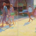 Piccadilly Brilliance (Diptych) 80x48ins £5400