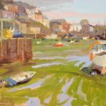 Mevagissey Harbour 16x12ins SOLD