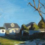 Blue Garden, Virginia 16x12ins £850