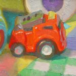 The Little Fire Engine 8 x 6 ins £395