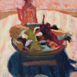 After Bonnard, Bowl of Fruit 7x8ins £325