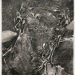 Collograph Self Portrait. 12x16ins £185