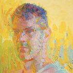 Fauvist Self Portrait 10x12ins £545
