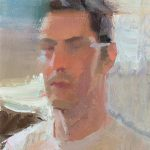 Glimpsed Self Portrait 6x8ins £395