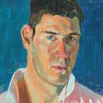 Self Portrait In Van Gogh's Colours 12x16ins £475
