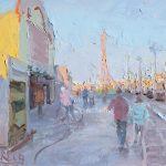 South Pier New Year 12x10ins £545