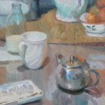 Tea avec Cezanne 14x16ins £695