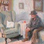 The Empty Chair 18x16ins £795